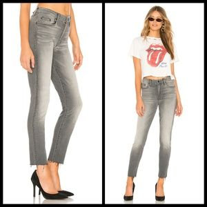 💕MOTHER💕 Looker Ankle Fray High Rise Jeans S…